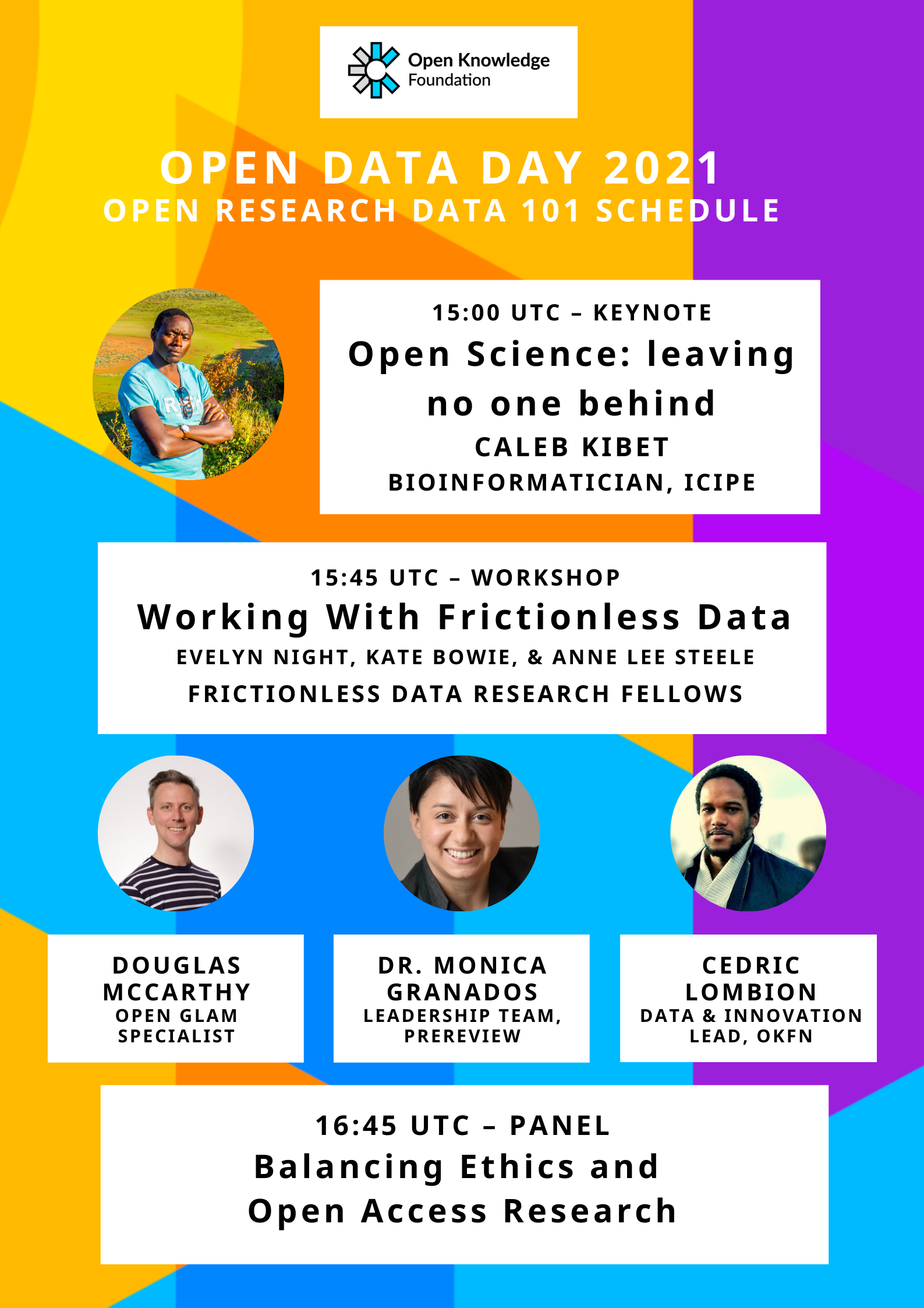 Open Data Day Flier